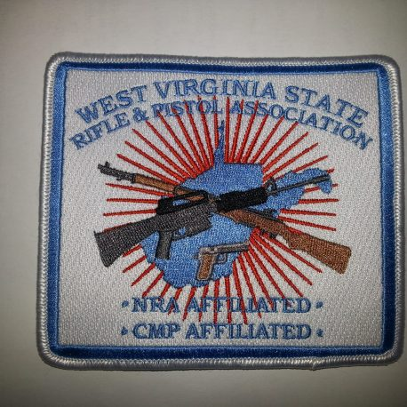 WVSRPA Patch 4.5 X 4.25 inches